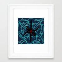 technology Framed Art Prints featuring technology by daniel