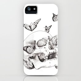 Anxiety Print iPhone Case