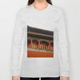 Forbidden City Building Long Sleeve T-shirt