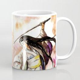 Tomoe Gozen watercolor Coffee Mug