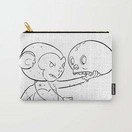 Monkey Pirate - ink Carry-All Pouch