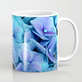 Purple Blue hydrangea Coffee Mug