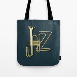 Virtuous Jazz Tote Bag