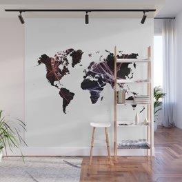 Fractal world map Wall Mural