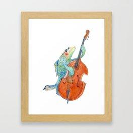 Sea Bass Framed Art Print