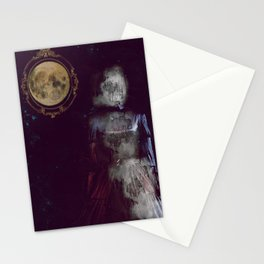 The ghost of miss Parker Stationery Cards
