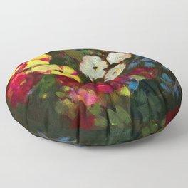 Spring Bouquet Floor Pillow