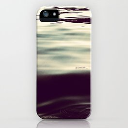 winter waters iPhone Case