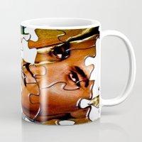 gentleman Mugs featuring Gentleman by Rick Staggs