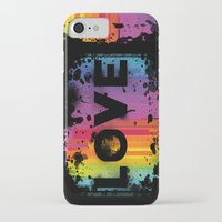 iPhone Cases featuring For Love 2 by Starflyer Art