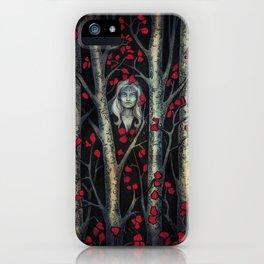Night so Dark, Where are you? iPhone Case