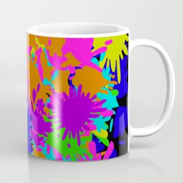 Splatoon Ink Fight Pattern Coffee Mug