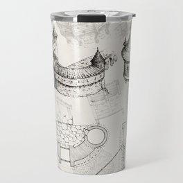 Medieval Barbican Travel Mug