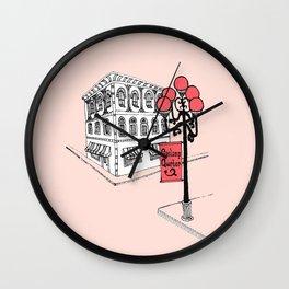 Gaslamp Quarter Wall Clock