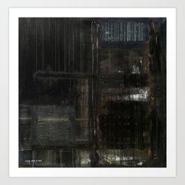 Industrial (oil on canvas) Art Print