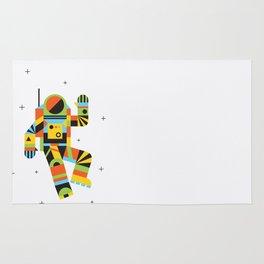 Hello Spaceman Rug