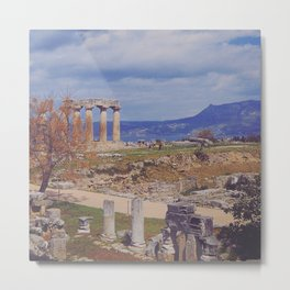 Ancient Corinth Metal Print