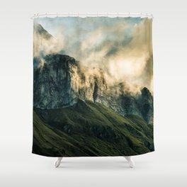 Wander III Shower Curtain