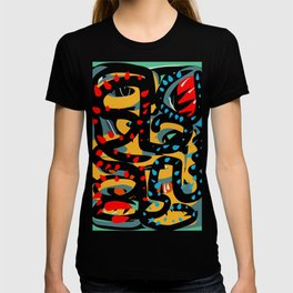Energy Flow Abstract Art Life T-shirt