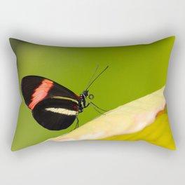 Butterfly - Climbing the hill Rectangular Pillow
