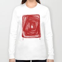 no face Long Sleeve T-shirts featuring Face by KRNago