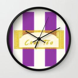 Chai Tea Latte Antique Wall Clock