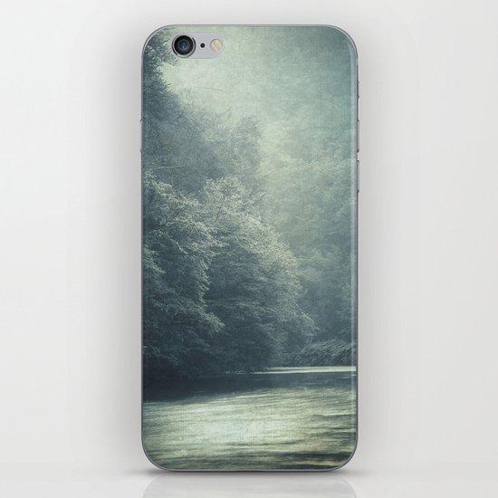 mystery river iPhone & iPod Skin