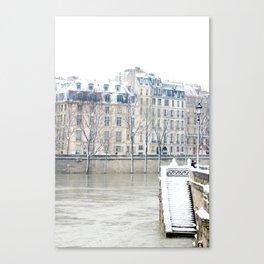 Stairway to the Seine Canvas Print