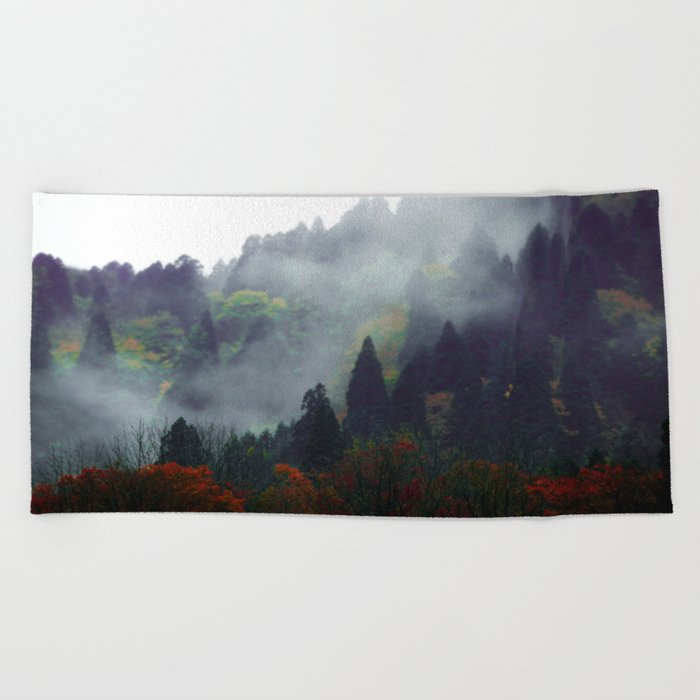 Forest Vibes Beach Towel