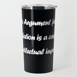 Ayn Rand Travel Mug