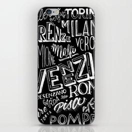 Italia mia iPhone Skin