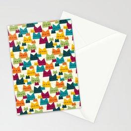 Nala Cat Pattern Bohemian Stationery Cards