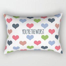 The Worst Rectangular Pillow