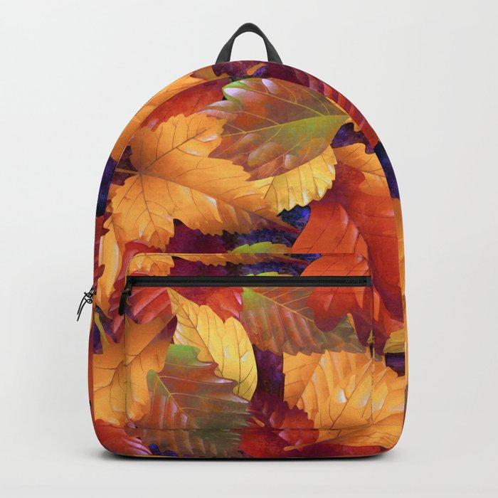 Fallen leaves I Backpack