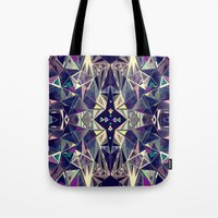 kaleidoscope Tote Bags featuring Kaleidoscope by QUEQZZ