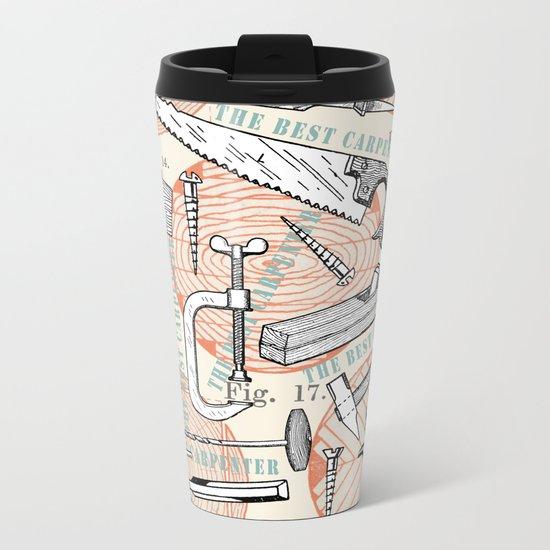 THE BEST CARPENTER Metal Travel Mug