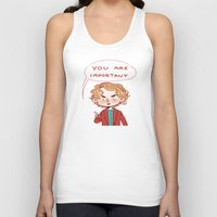 enjolras Tank Tops featuring Enjolras Reminder by Antisepticbandaid