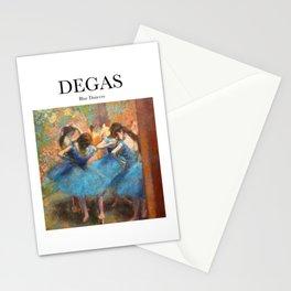 Degas - Blue Dancers Stationery Cards