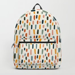 Rainbow Confetti Pattern Backpack