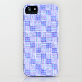 Interpretive Weaving (Cool Breeze) iPhone Case