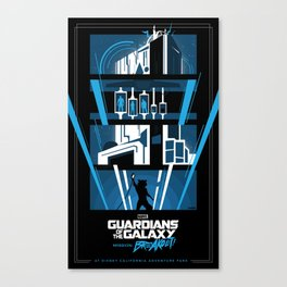 Guardians of the Galaxy - Mission: BREAKOUT! Poster Canvas Print
