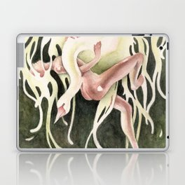 From Swan to Swoon (Leda & Zeus) Laptop & iPad Skin