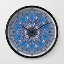 Blue Eye 1 Wall Clock