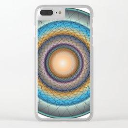 Mandala 1 Clear iPhone Case
