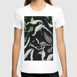 FLORAL ABSTRACTION T-shirt