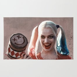 Harley Quinn The Homicidal Maniac - Suicide Squad Rug