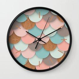 Scallops Wall Clock