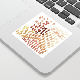 Colorful City Dots Sticker