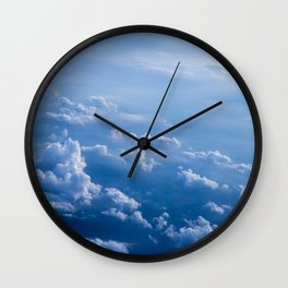 Above Clouds Wall Clock