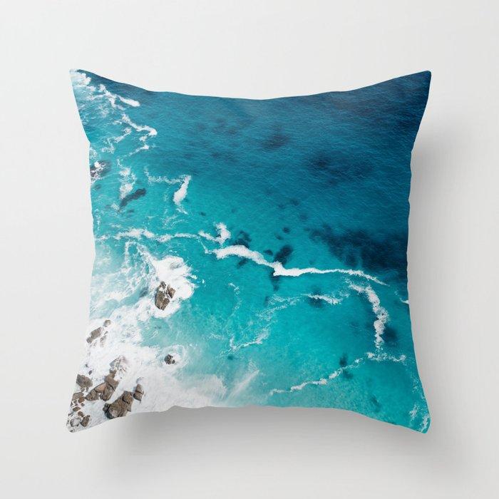 Sea 4 Throw Pillow